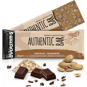 OVERSTIM.s Authentic Riegel Box 3+1 x 65g chocolate peanuts